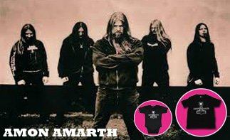 Amon Amarth rock baby tøj