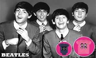 Beatles rock baby tøj