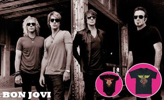Bon Jovi rock baby tøj