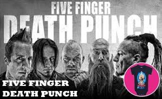 Five Finger Death Punch rock baby tøj