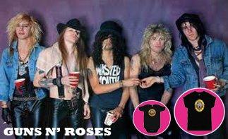 Guns 'N Roses rock baby tøj