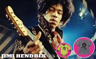 Jimi Hendrix rock baby tøj