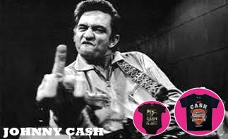 Johnny Cash rock baby tøj