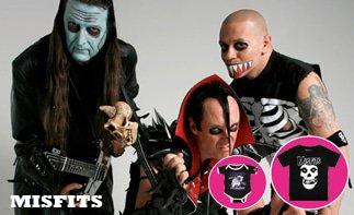 Misfits rock baby tøj
