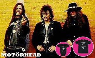 Motörhead rock baby tøj