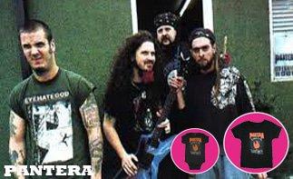 Pantera rock baby tøj