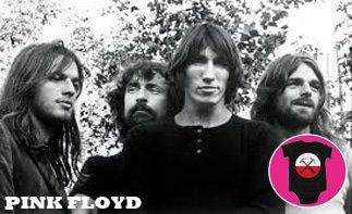 Pink Floyd rock baby tøj
