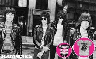 Ramones rock baby tøj