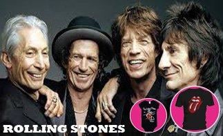 Rolling Stones rock baby tøj