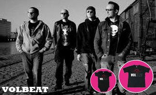 Volbeat rock baby tøj