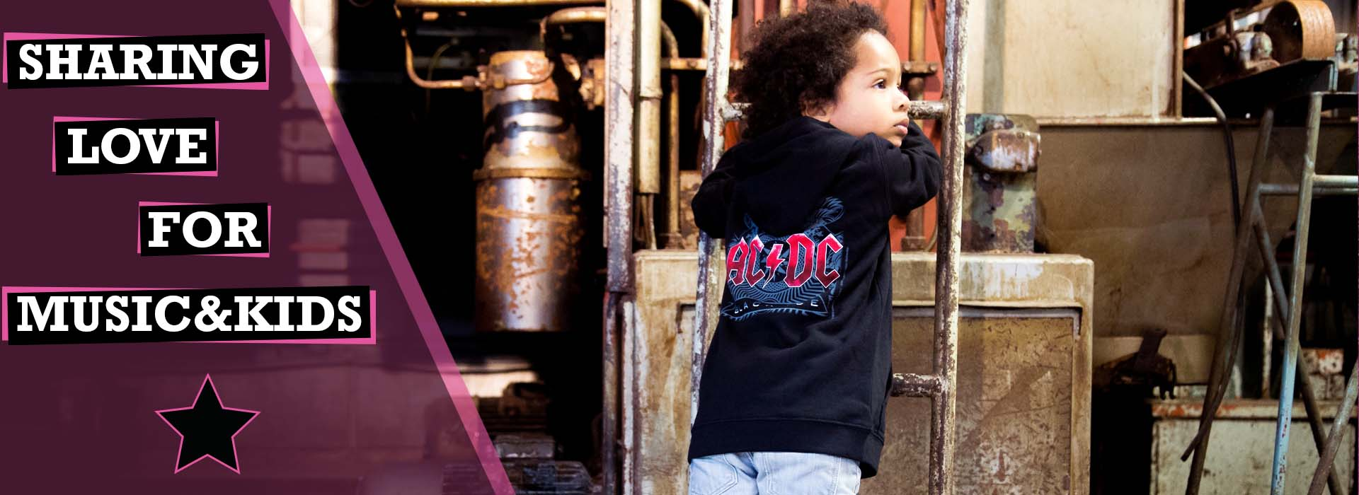 Metal børn tøj